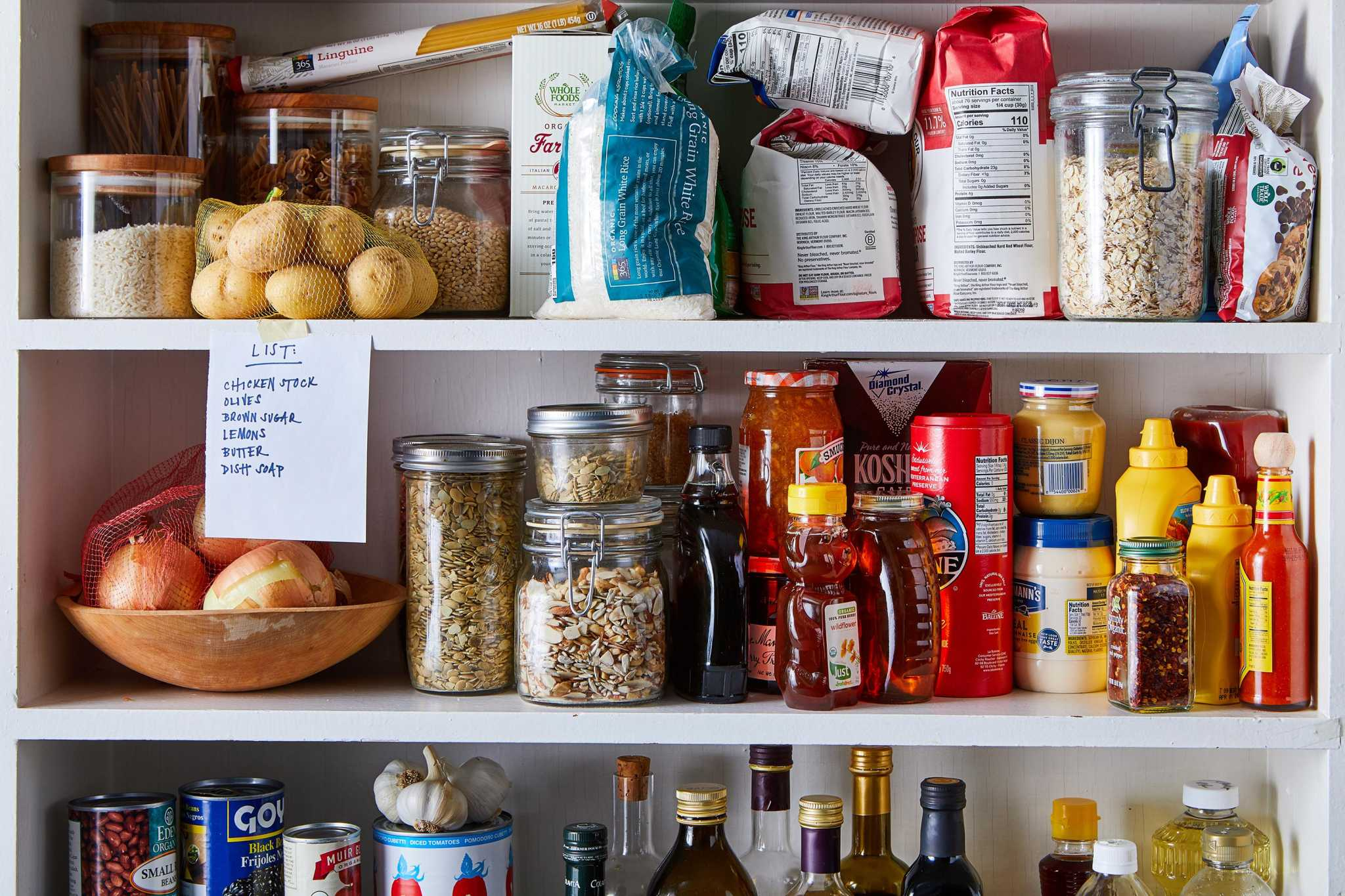 Stocking your pantry and fridge during coronavirus