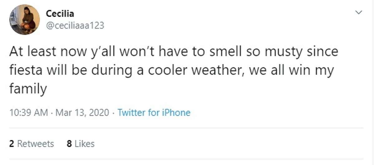 San Antonians react on Twitter about Fiesta being postponed until November.