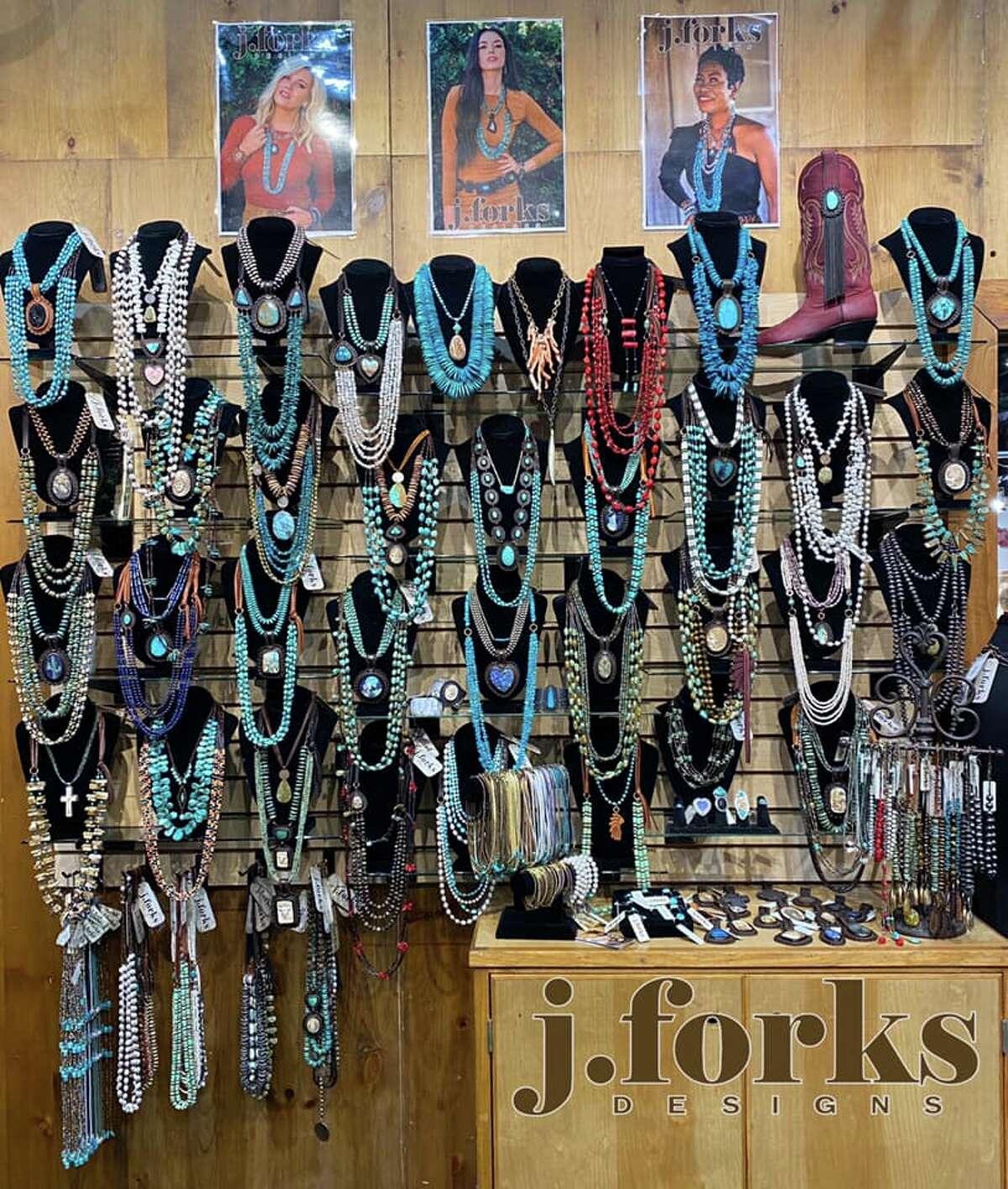 Jforks DesignsGraphic tees, jewelry Photo courtesy: Jenny Burris Ackel/Facebook