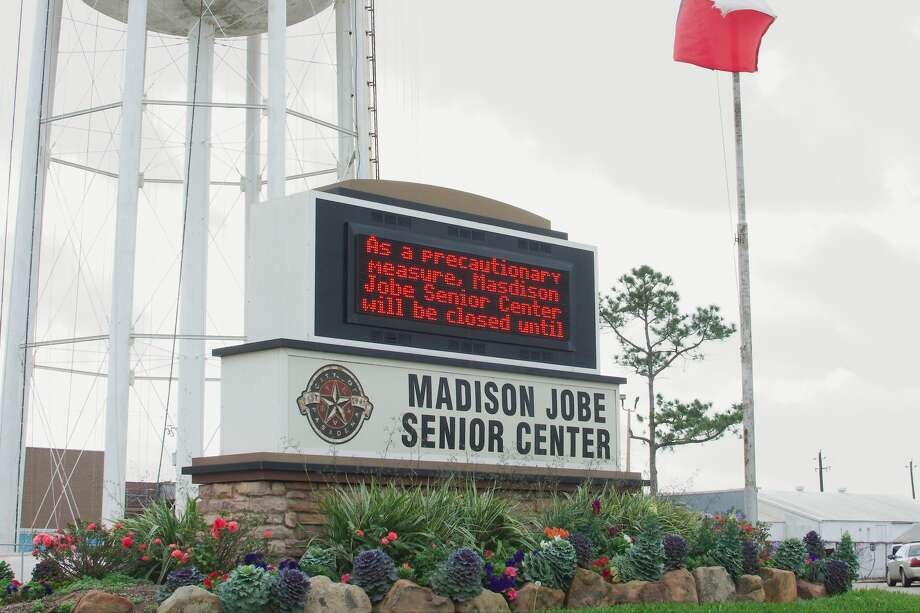 The Madison Jobe Senior Center in Deer Park has been temporarily closed as a precautionary measure due to concerns about the spread of coronavirus. Photo: Kirk Sides/Staff Photographer