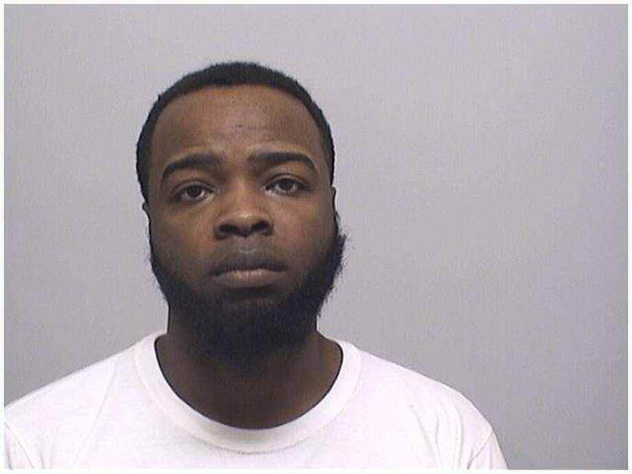 Christopher Evans, 30, of Stamford, was busted Tuesday while allegedly in possession of five pounds of marijuana. Photo: Stamford Police Department / Contributed