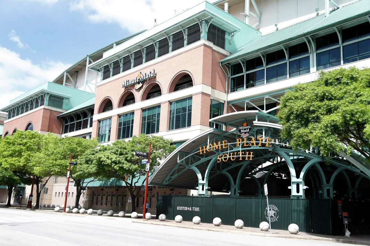 It's unclear when the Astros will return to Minute Maid Park to begin the season, which has been delayed at least two weeks because of the coronavirus.