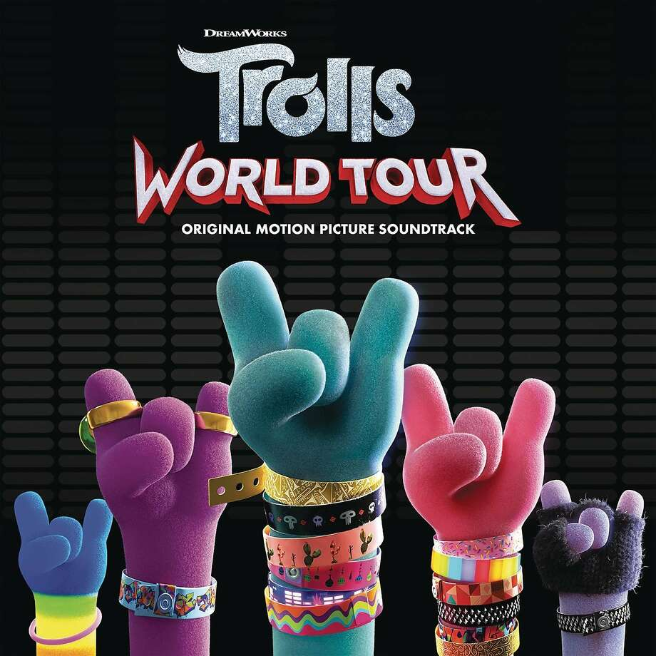 "This cover image released by RCA shows ""Trolls: World Tour (Original Motion Picture Soundtrack)"". (RCA via AP) Photo: Associated Press"