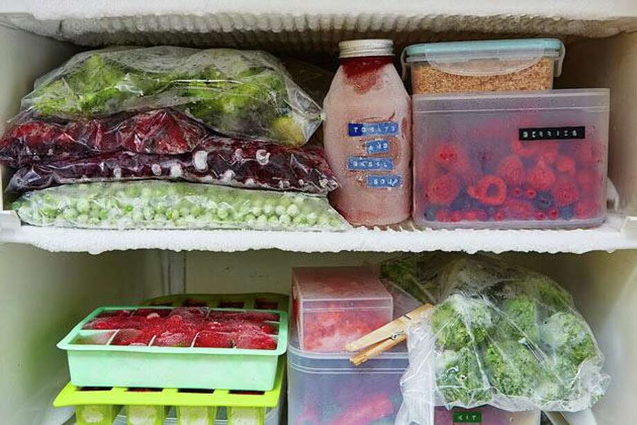 RVNAhealth suggests stocking up on healthy long-lasting pantry and freezer foods. Photo: Contributed Photo