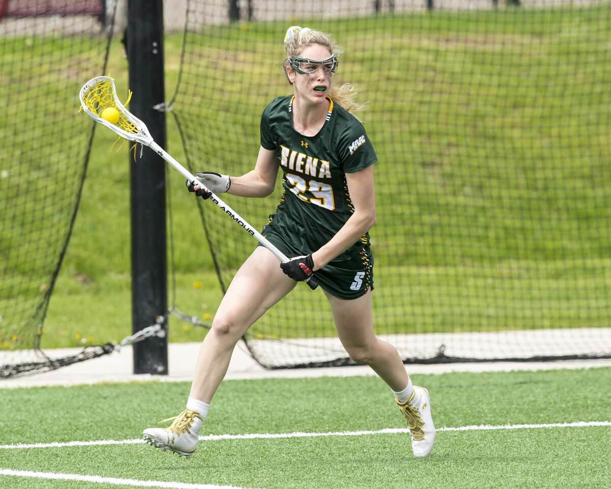 Siena lacrosse's Therese Pitman compared the cancellation of her season to a movie she wished would end. (Siena College athletics)