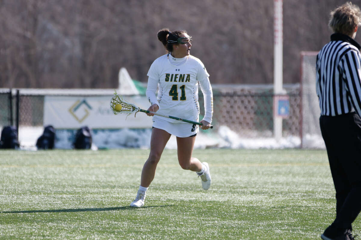 Siena lacrosse's Annie Brennan said there would be many considerations in deciding whether to use an extra year of eligibility. (Siena College athletics)