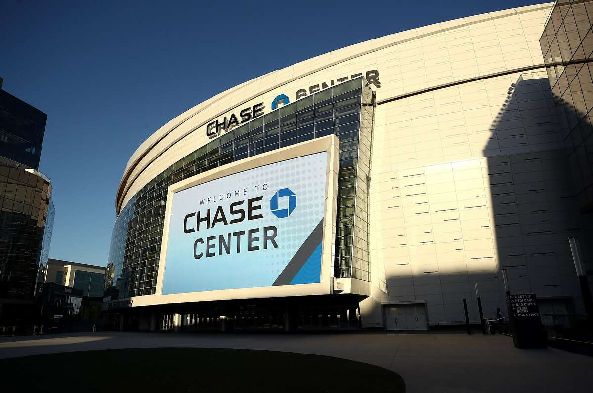 MARCH 12: An exterior view of the Chase Center, where the NBA Golden State Warriors play on March 12, 2020 in San Francisco, California. (Photo by Ezra Shaw/Getty Images)