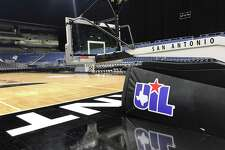 An empty Alamodome after the UIL boys basketball state tournament was suspended on Thursday, March 12, 2020 due to the spread of the coronavirus.
