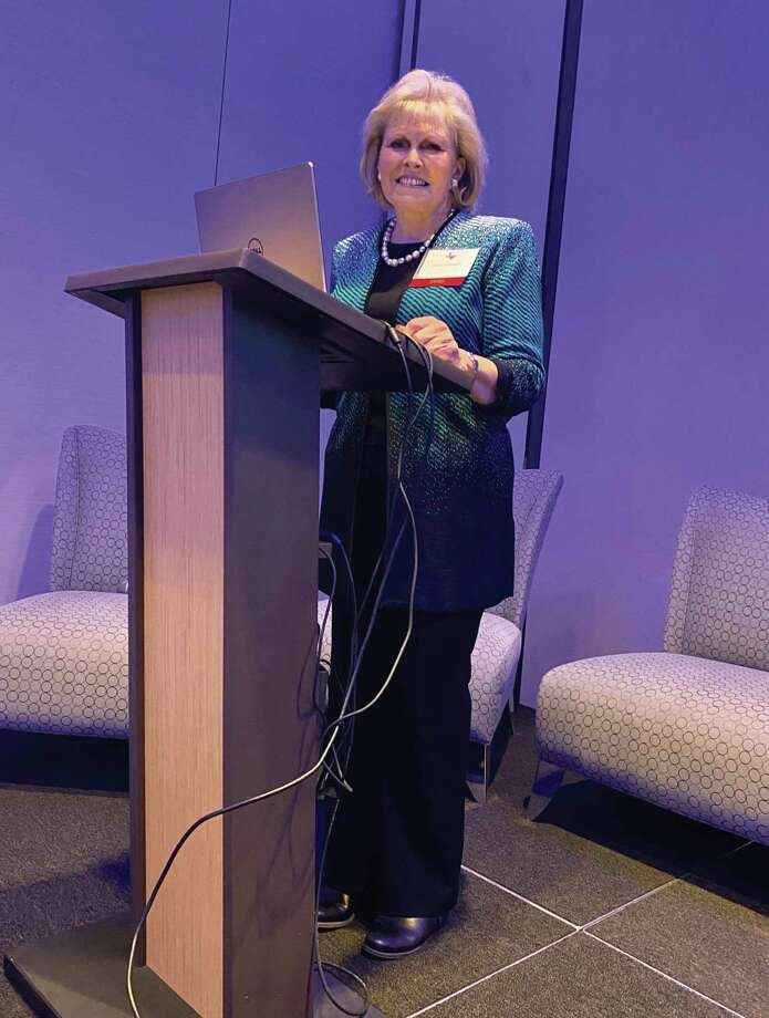 The keynote speaker was renowned real estate expert, Pam O'Connor, who is the retired CEO of Leading Real Estate Companies of the World.
