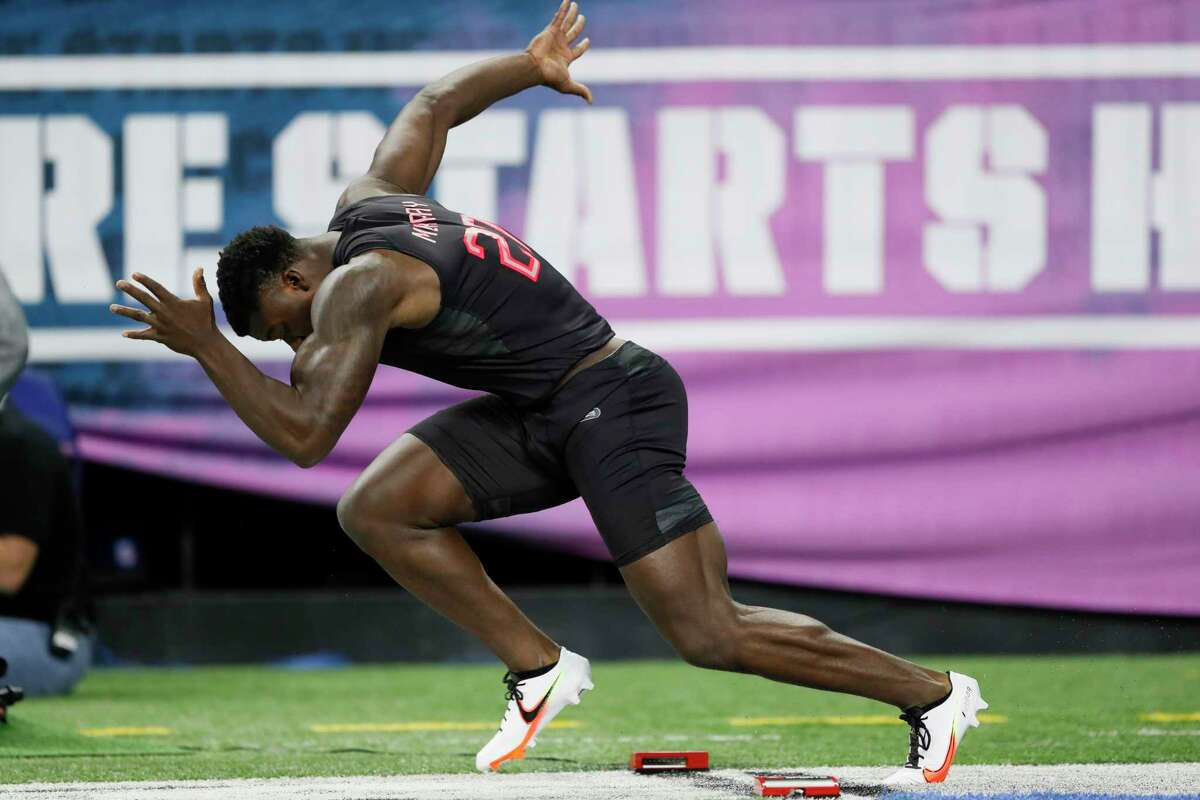 Oklahoma linebacker Kenneth Murray, who attended Elkins, is projected to be a first-round selection in the NFL draft.