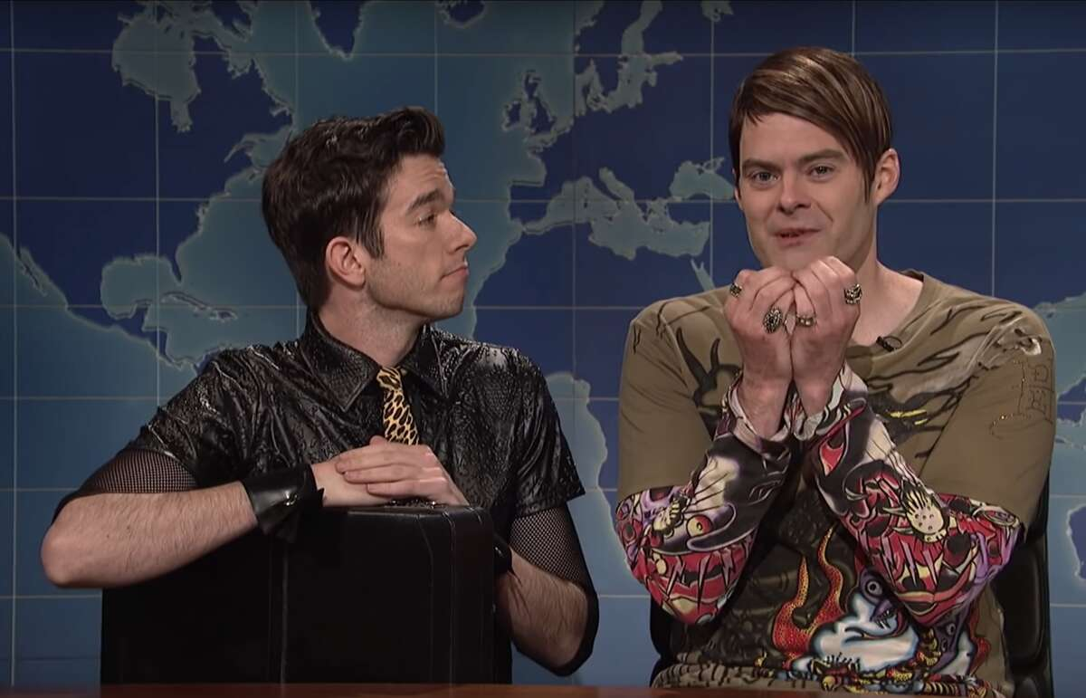 Bill Hader reprised his role as Stefon alongside John Mulaney on