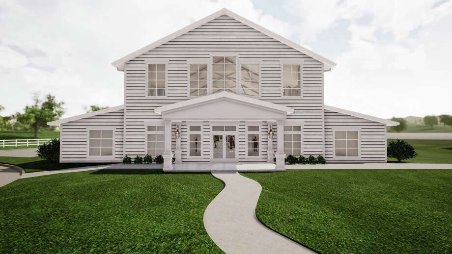 Renderings of new Tomball wedding and event venue Boxwood Manor, expected to open in the fall of 2020. Photo: Courtesy Of Paradigm Construction