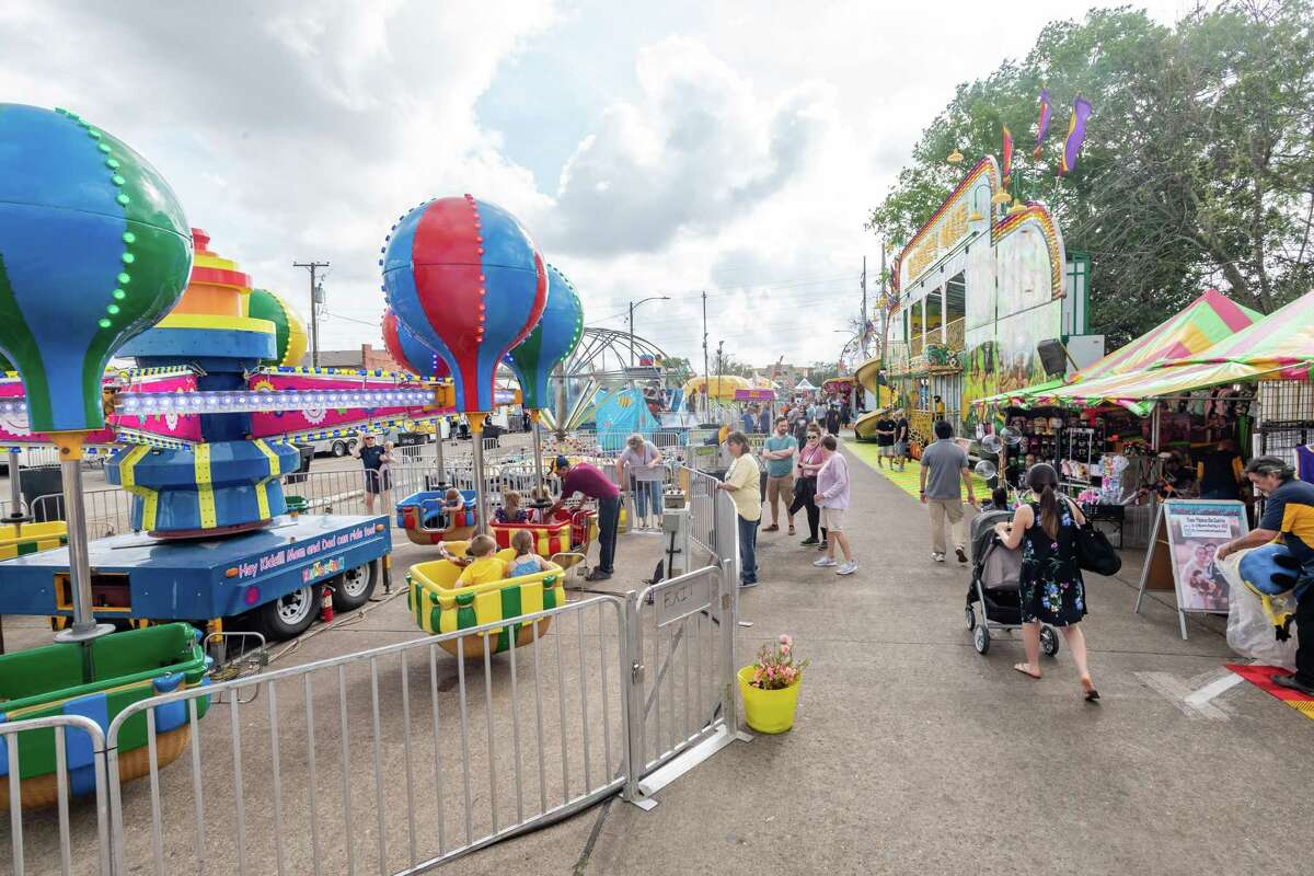 The Nederland Heritage Festival wasn't quite as crowded on Friday, March 13, 2020. Fran Ruchalski/The Enterprise