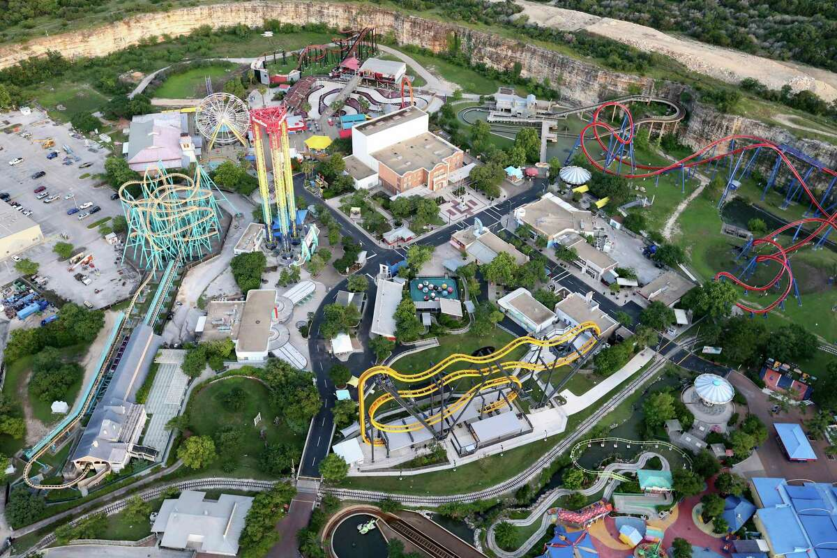 Some major attractions are closing, at least until the end of the month. Six Flags Fiesta Texas, pictured, closed Friday. SeaWorld and and Aquatica San Antonio will close Monday.