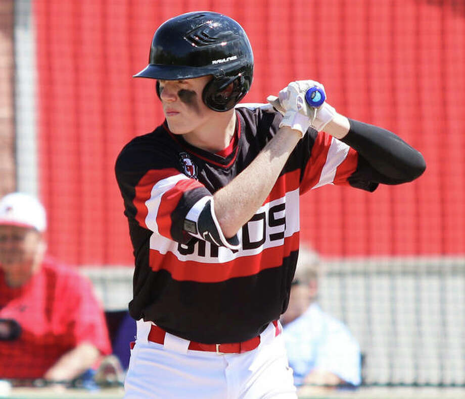 Alton senior Riley Phillips returns to the Redbirds lineup this season after what AHS coach Scott Harper called 'a great summer. His confidence, so far from what we see, he just looks to have a lot more of it on the mound with his stuff.' Photo: Greg Shashack | The Telegraph