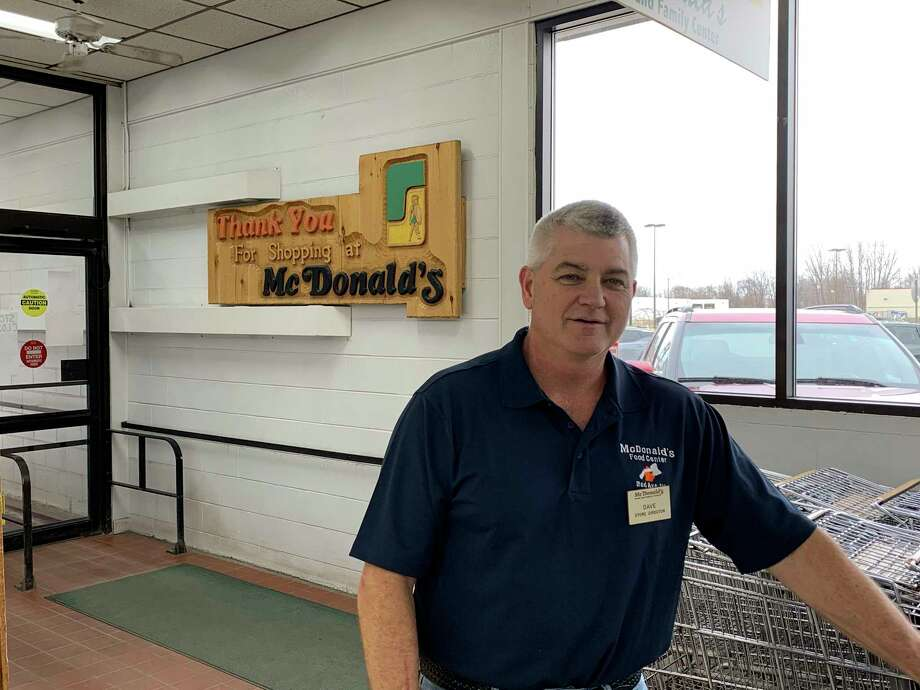 For more than 25 years Dave McDonald served as the store director for McDonald's Food and Family Center. (Paige Withey/For the Tribune)