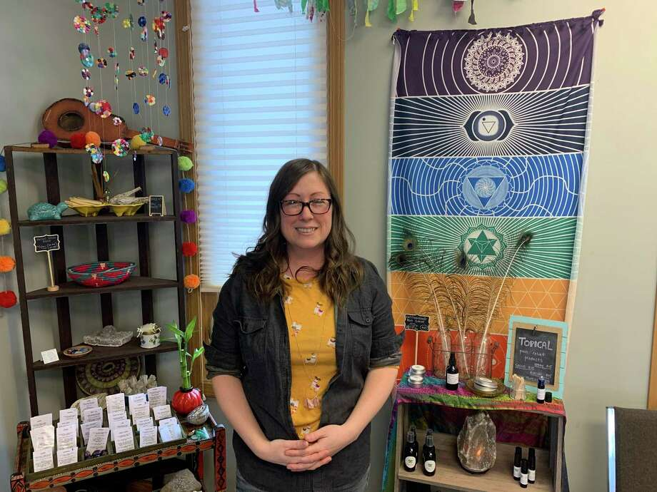 In addition to being the mother of five children, Shar Mohr is also a certified herbalist and owner of Green Girl Wellness. (Paige Withey/For the Tribune)