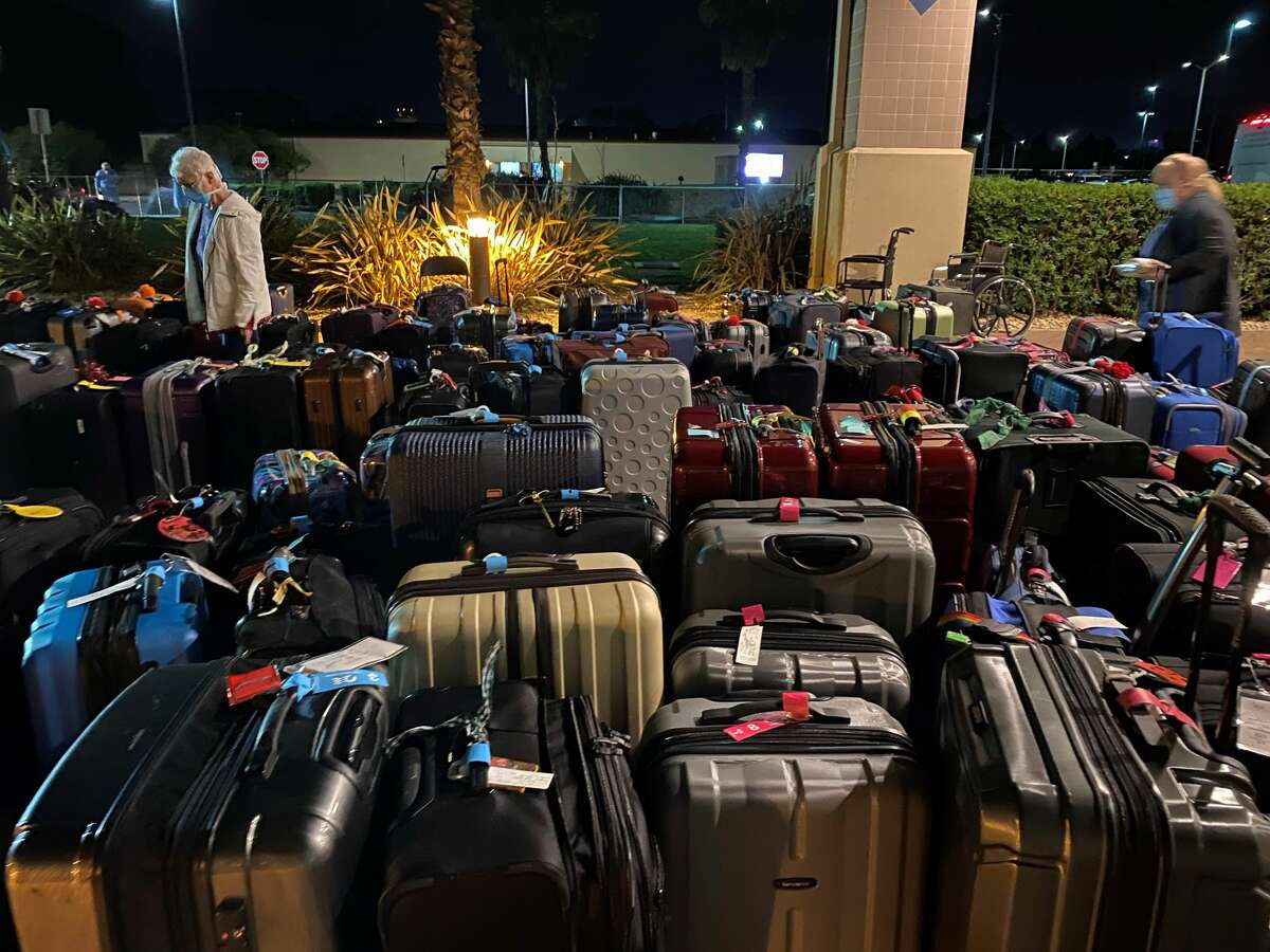 Hundreds of passengers from the Grand Princess cruise ship are under a 14-day quarantine at Travis Air Force Base in Fairfield, Calif.