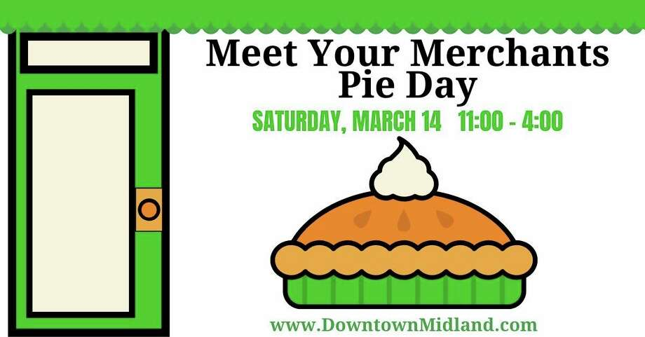Saturday, March 14: Midland Downtown Business Association will host Meet Your Merchants Pie Day from 11 a.m. to 4 p.m. This event is a chance for the community to discover who makes downtown Midland so unique. Downtown businesses will be hosting open houses. (Photo provided/Downtown Midland, Michigan Facebook)
