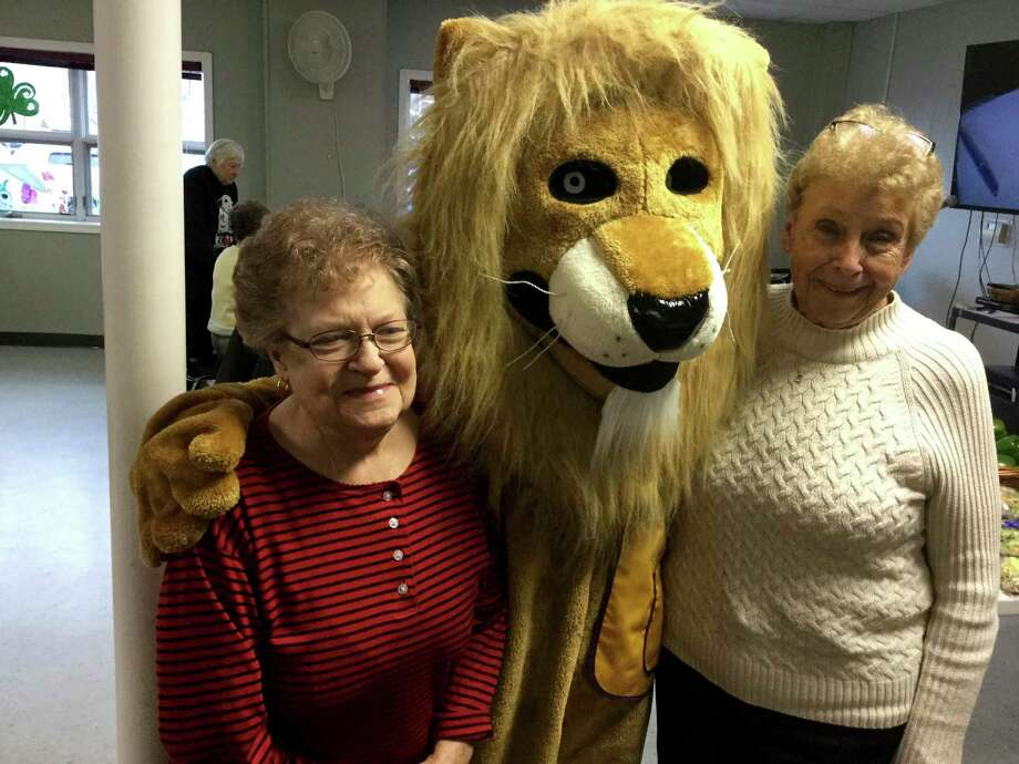 The Manistee Lions Club visited the senior center last week. (Courtesy Photo)