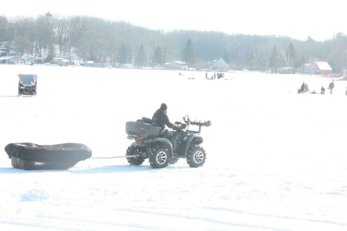 Anglers are now making the transition to spring fishing from ice fishing. (Pioneer file photo)