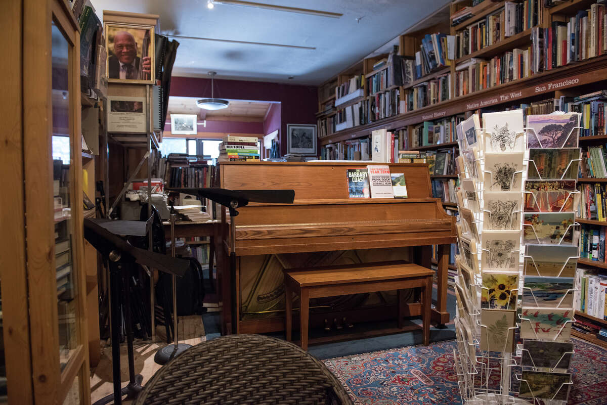 Bird and Beckett, located in Glen Park, is typically part bookstore, part music venue.