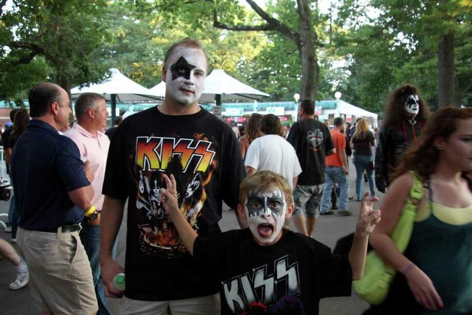 Were you seen at KISS at SPAC? Photo: Kacey Bruce