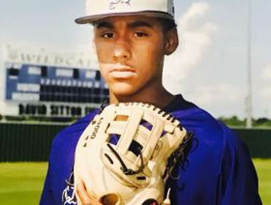 Humble High School pitcher Anthony Tejada.