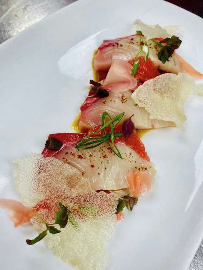 Hamachi dish. Photo: Contributed Photo
