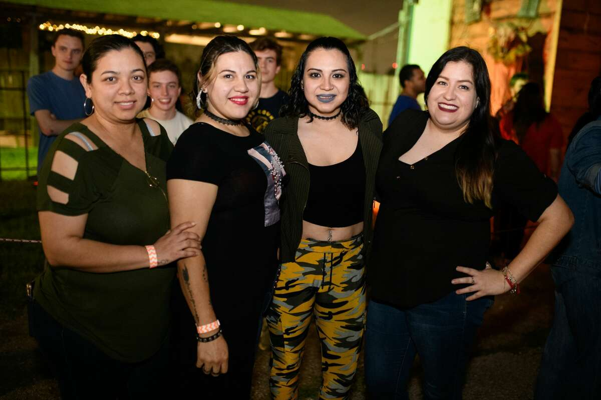 Fans attending Screamworld's final night on Friday, March 13, 2020