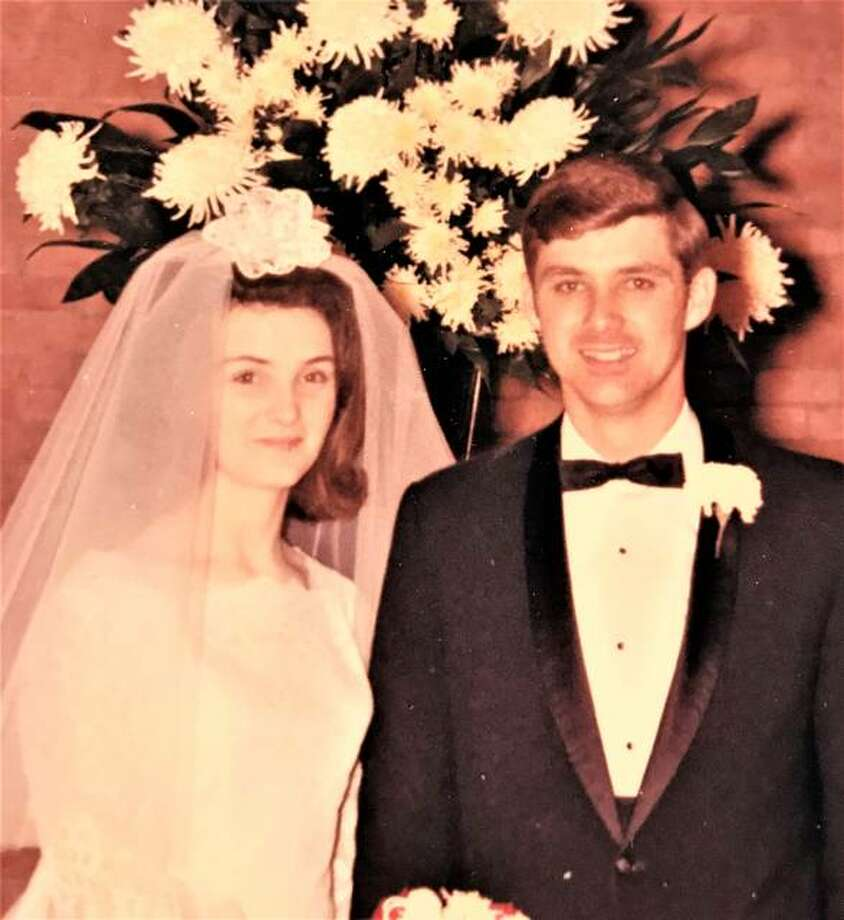 Gary and Donna at their wedding