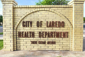 A view of the City of Laredo Health Department sign as seen, Thursday, Mar. 12, 2020.