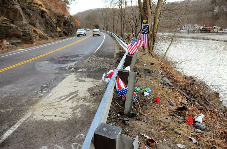 A view of the scene from a recent fatal crash that happened along Route 34 near Cullens Hill Rd. in Derby, Conn., on Tuesday Mar. 10, 2020. Derby Police Department reported Sunday that the crash involved two vehicles near Cullen's Hill Road at 11:14 a.m. One individual died as a result of the crash. Photo: Christian Abraham / Hearst Connecticut Media / Connecticut Post