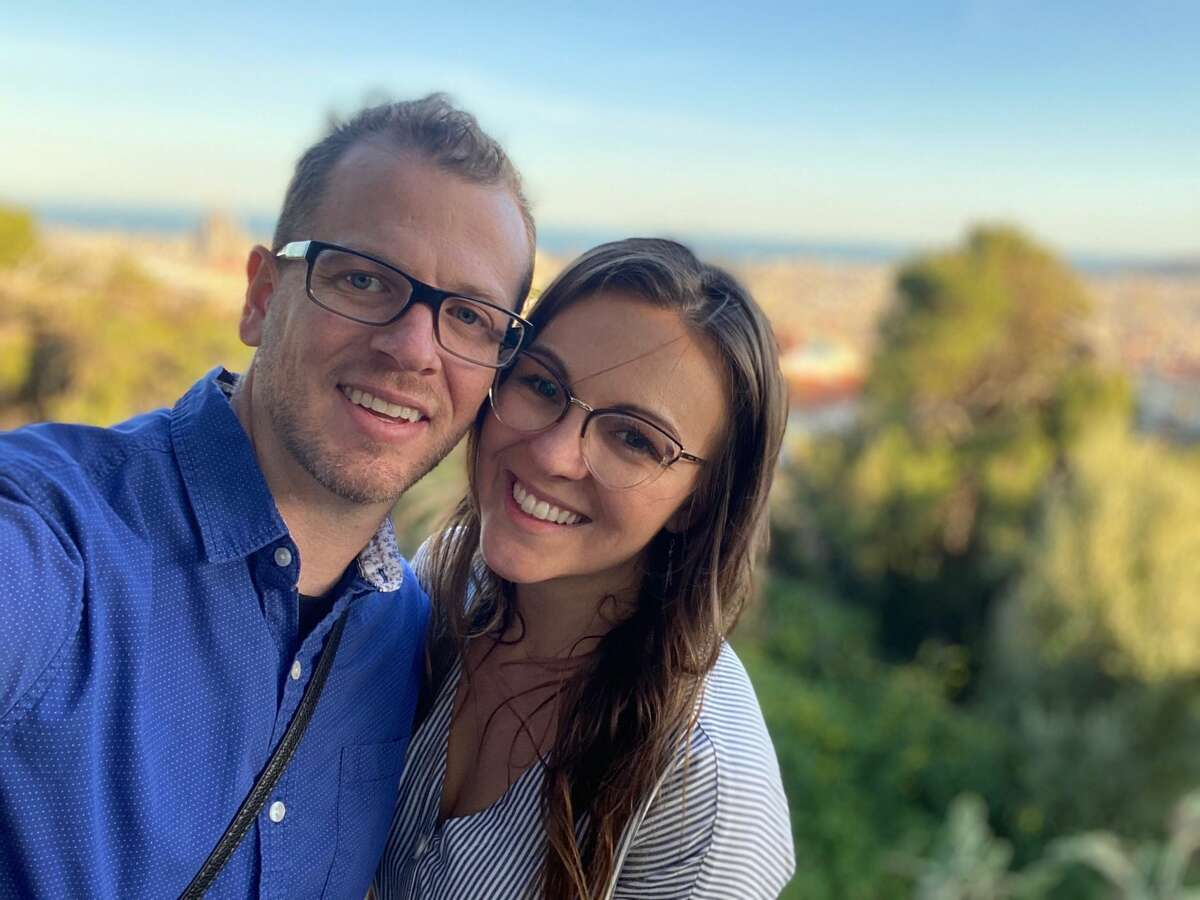 Ryan Eller and Sarah Dutter, two Bay Area nurses stuck in Morocco due to the spread of the coronavirus and subsequent travel restrictions.