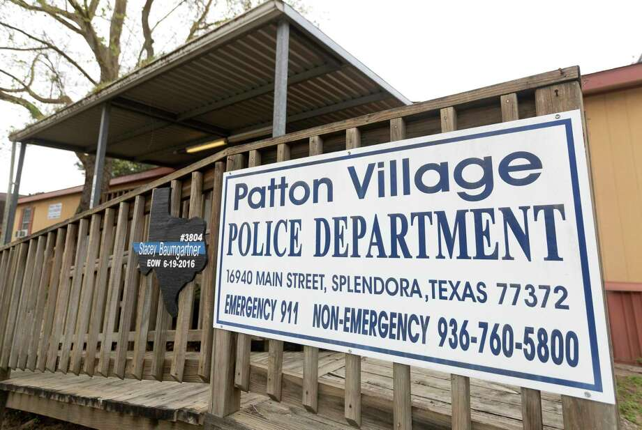 The Patton Village Police Department. A Patton Village police officer in his 40s who tested positive for COVID-19 remains in critical condition according to a Montgomery County Public Health District official. Photo: Jason Fochtman, Houston Chronicle / Staff Photographer / Houston Chronicle  © 2020