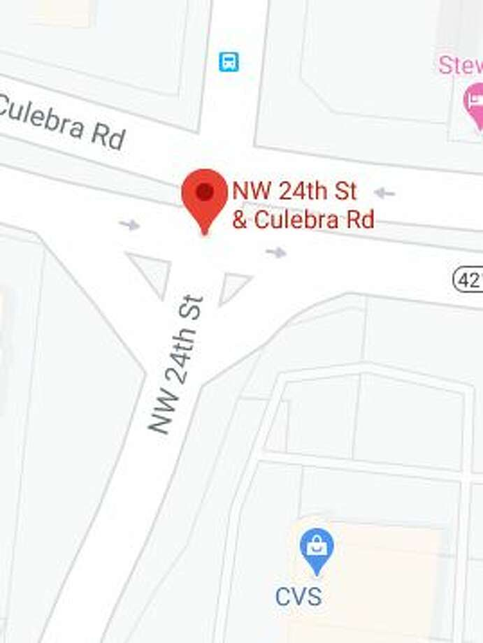 A minor was shot by police Saturday after police officers were fired on in a West Side neighborhood. Photo: Google Maps