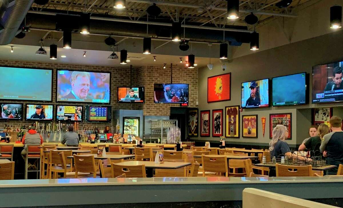Employees at Buffalo Wild Wings began implementation of more rigorous sanitation procedures Friday. Efforts are being made to ensure the safety of employees and customers since several Michigan residents have tested positive for the coronavirus. (Pioneer photo/Cathie Crew)