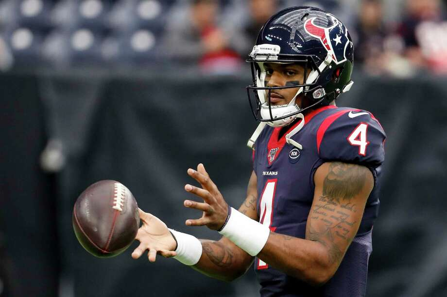 Deshaun Watson (4) is due for a big contract after a season in which the Texans' quarterback was selected to the Pro Bowl. Photo: Brett Coomer, Houston Chronicle / Staff Photographer / © 2019 Houston Chronicle