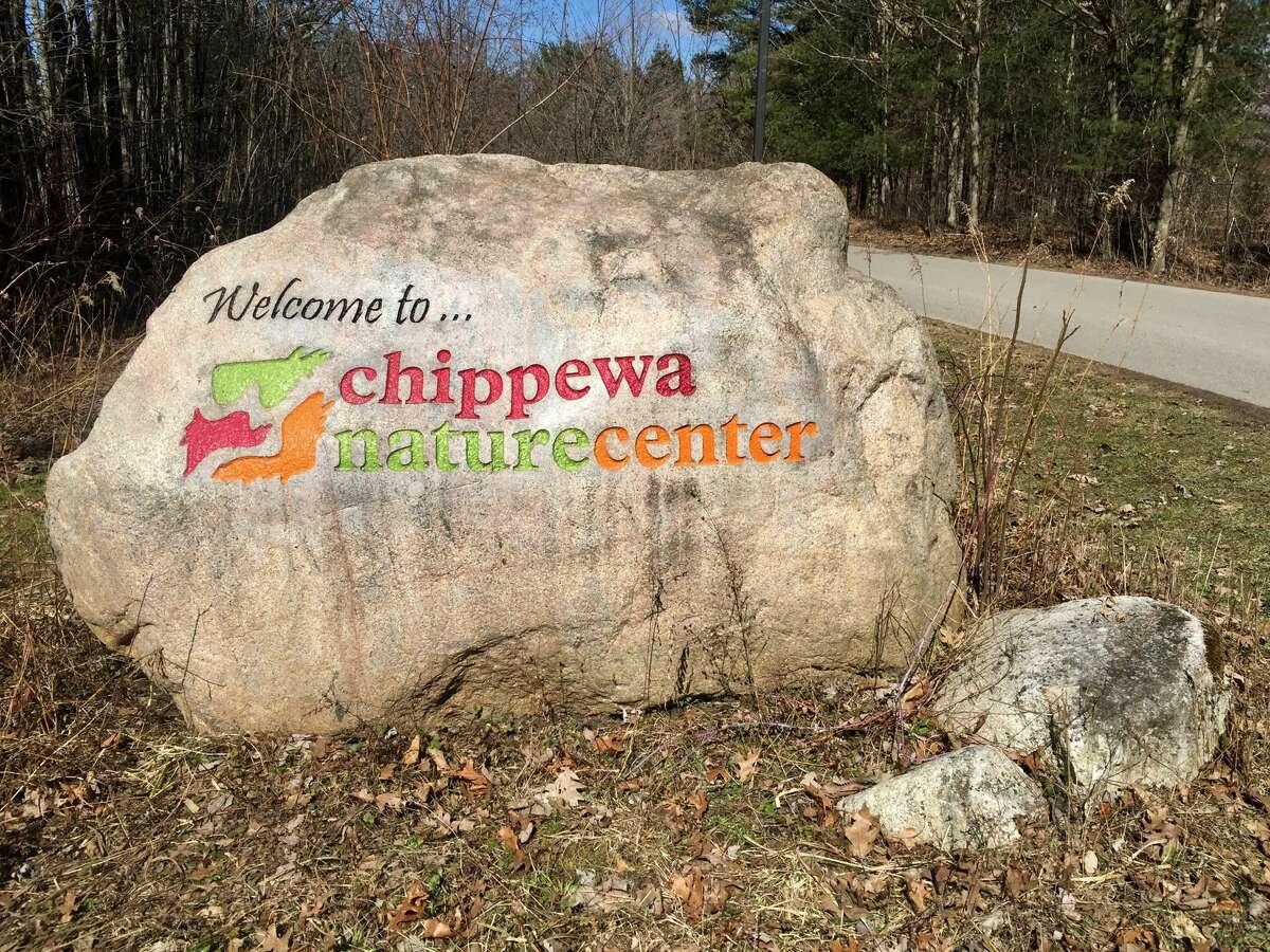 FILE - The Chippewa Nature Center signage.