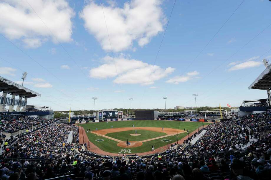 Fans watch during the fifth inning of a spring training baseball game between the Tampa Bay Rays and the New York Yankees Thursday, Feb. 27, 2020, in Tampa, Fla. Photo: Frank Franklin II, AP / Copyright 2020 The Associated Press. All rights reserved.