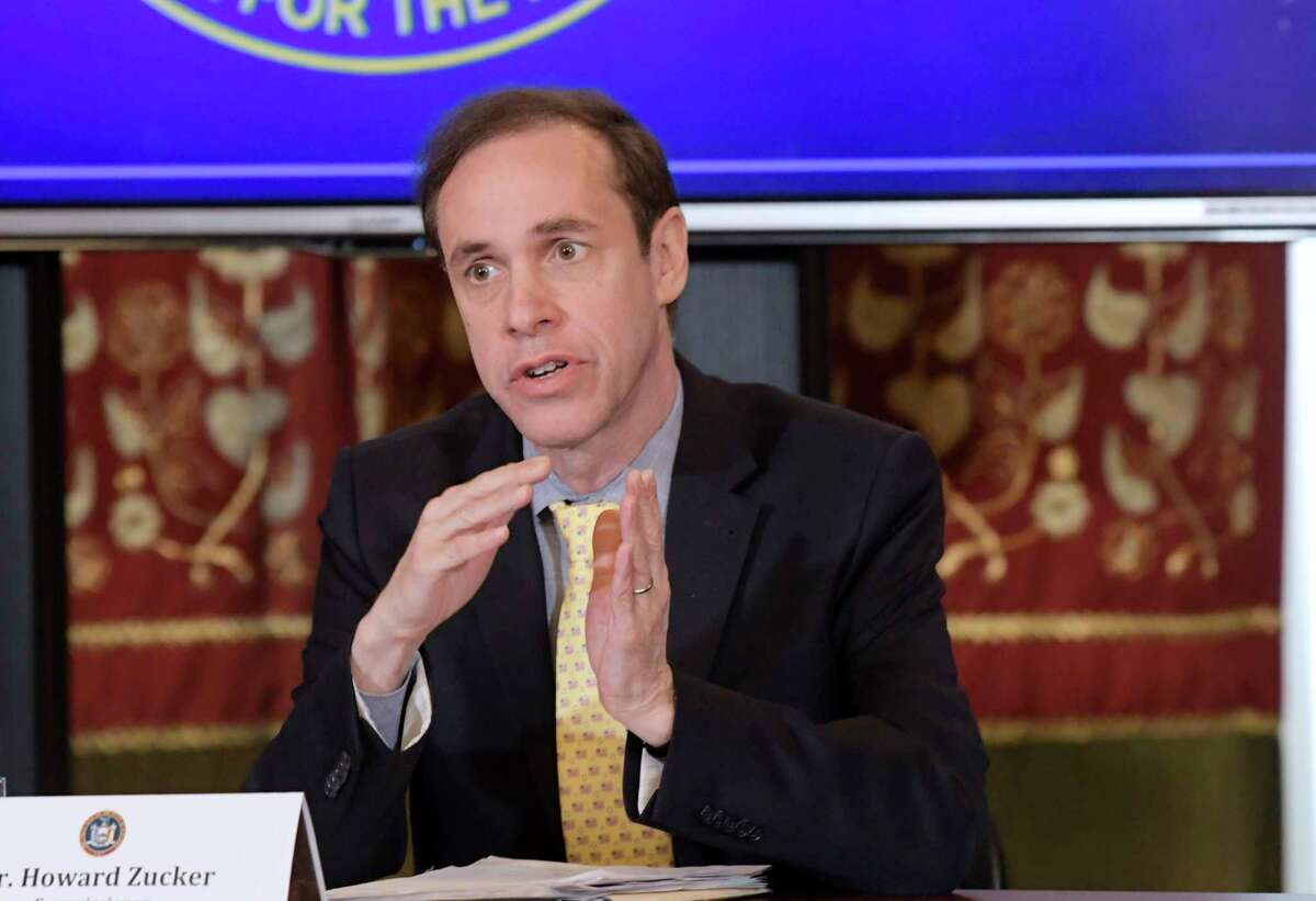 Dr. Howard Zucker, commissioner of the New York State Department of Health, is resigning from his position.(Paul Buckowski/Times Union)