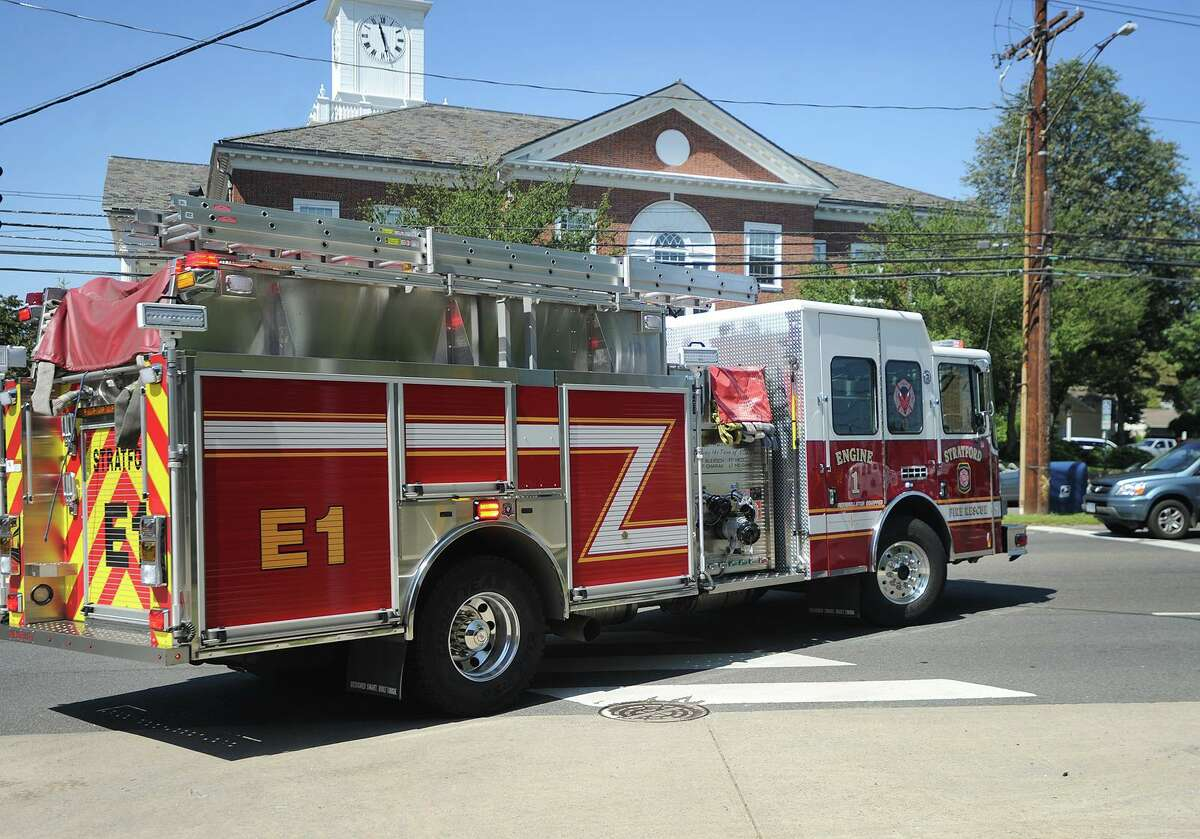 File photo of Stratford fire engine.