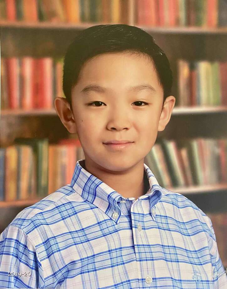 Cary Wang is a fifth grader in New Canaan's Saxe Middle School. Photo: Contributed Photo