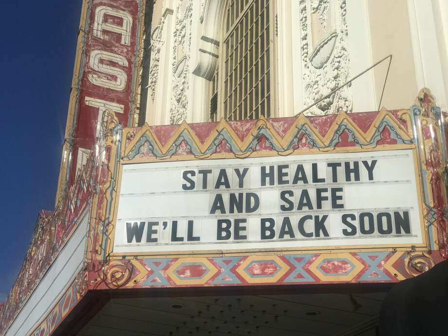 As an abundance of caution, a number of neighborhood theaters closed over the weekend. Hourly employees working gig-to-gig face as uncertain future as they wait for venues to re-open. Photo: Amanda Bartlett