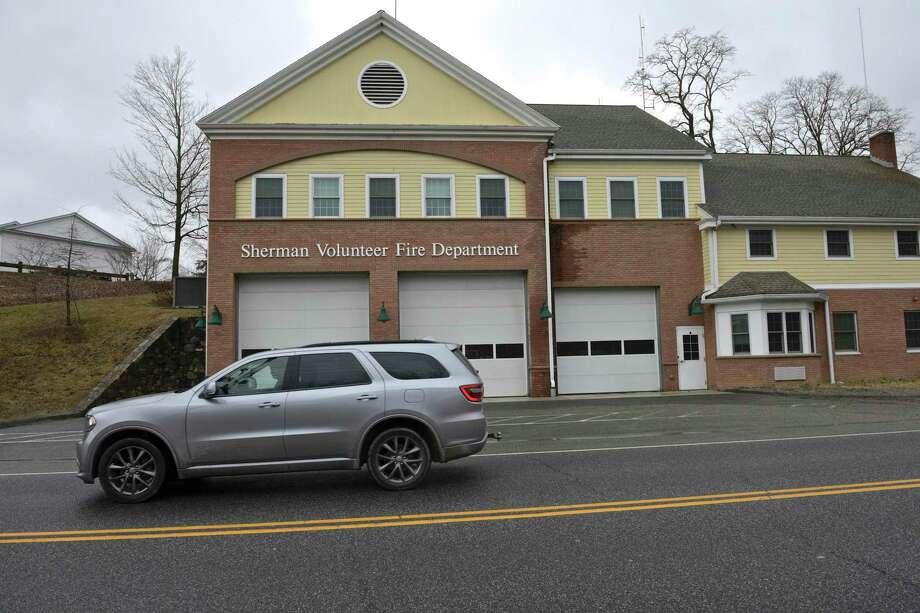 Sherman Volunteer Fire Department in Sherman, Conn. Photo: H John Voorhees III / Hearst Connecticut Media / The News-Times