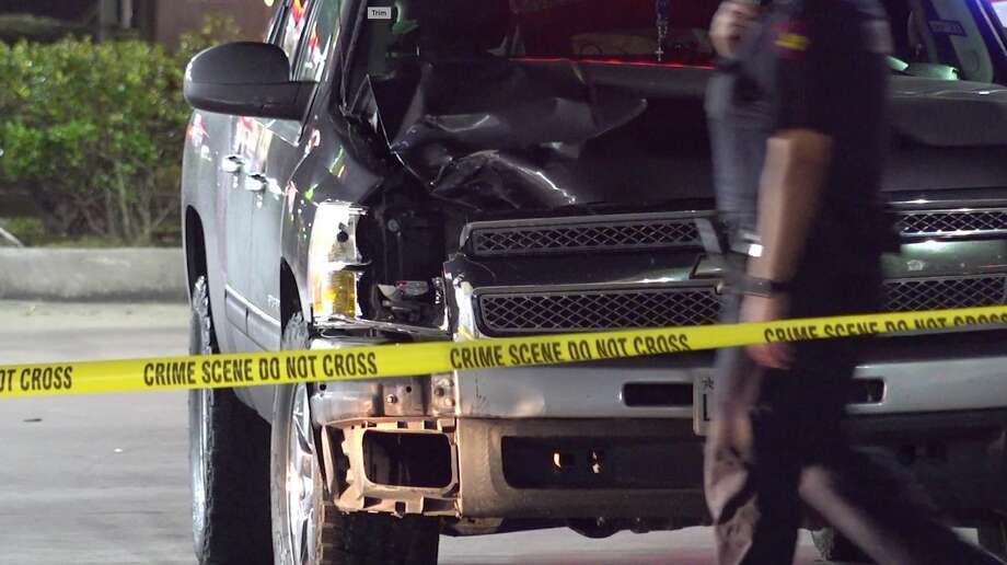 Deputies investigate a deadly hit-and-run collision in the 8700 block of FM 1960 on Sunday, March 15, 2020. Photo: OnScene.TV