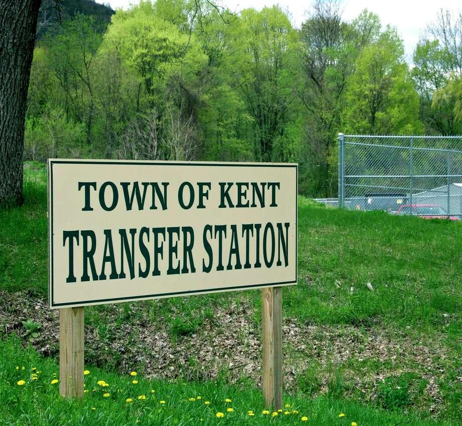 The Kent Transfer Station is located on Maple Street in Kent, Conn. Photo: Trish Haldin / Trish Haldin