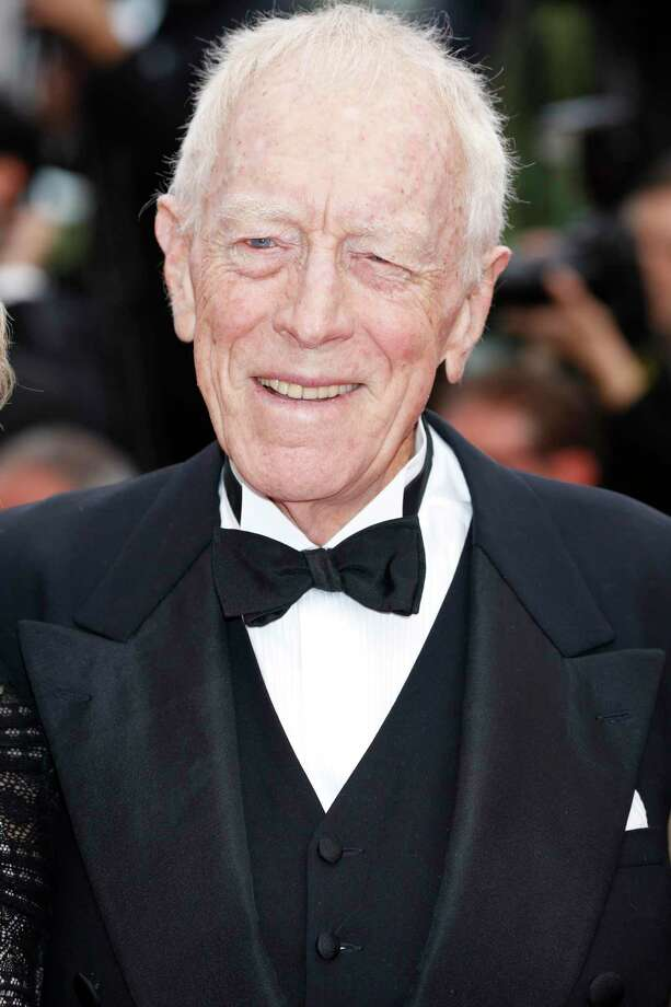 "Max von Sydow at the ""The BFG"" premiere during the 69th Cannes Film Festival at the Palais des Festivals on May 14, 2016 in Cannes, France. Photo: John Rasimus / Barcroft Media Via Getty Images / Barcroft Media Via Getty Images / Contributed Photo / Barcroft Media Via Getty I / John Rasimus / Barcroft Media"