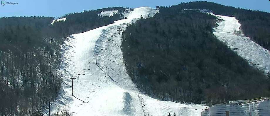 "Ski trails at Killington resort in Vermont are deserted on Monday, March 16, 2020. Killington said it suspended operations through March 22 ""to take in support of the nation's efforts to limit the spread and risks associated with COVID-19."" Killington, like many other resorts, is evaluating whether to extend that date or close for the season Photo: Killington Web Cam Image"