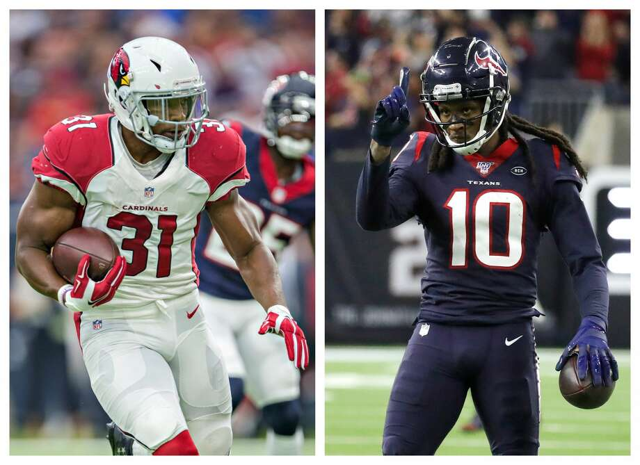 The Texans traded DeAndre Hopkins for David Johnson. Photo: Getty Images/Houston Chronicle